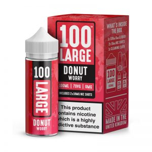 Donut Worry Shortfill By 100 Large