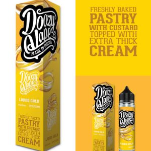 Liquid Gold Shortfill By Doozy Vape Co