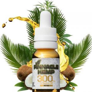 Pinnacle Hemp CBD Tincture – MCT 300mg