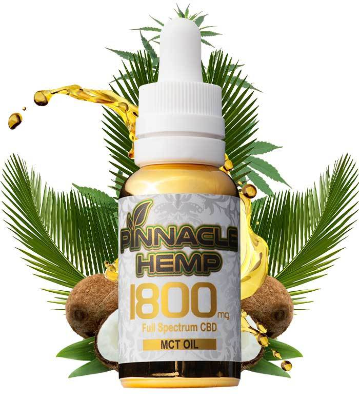 CBD HEMP OIL TINCTURE 1800MG