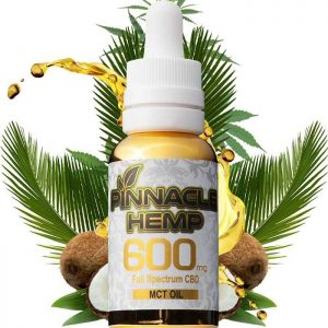 Pinnacle Hemp CBD Tincture – MCT 600mg