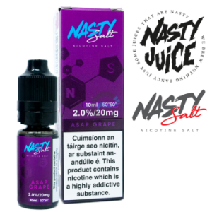ASAP Grape by Nasty Juice (Nic Salt)