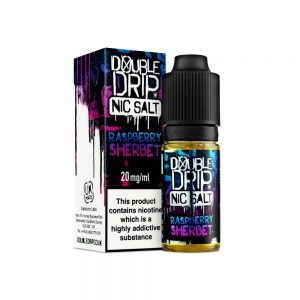 Raspberry Sherbet by Double Drip (Nic Salt)