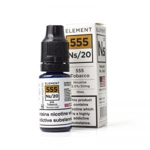 555 Tobacco by Element (Nic Salt)