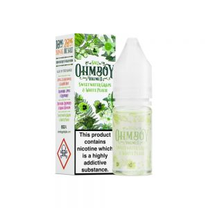 Sweet Grape & White Peach (Nic Salt) by OHM Boy Volume ||