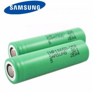Samsung 25R INR 18650 Rechargeable Vape Battery (2500mah 20A)
