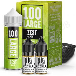 Zest Pest Shortfill By 100 Large